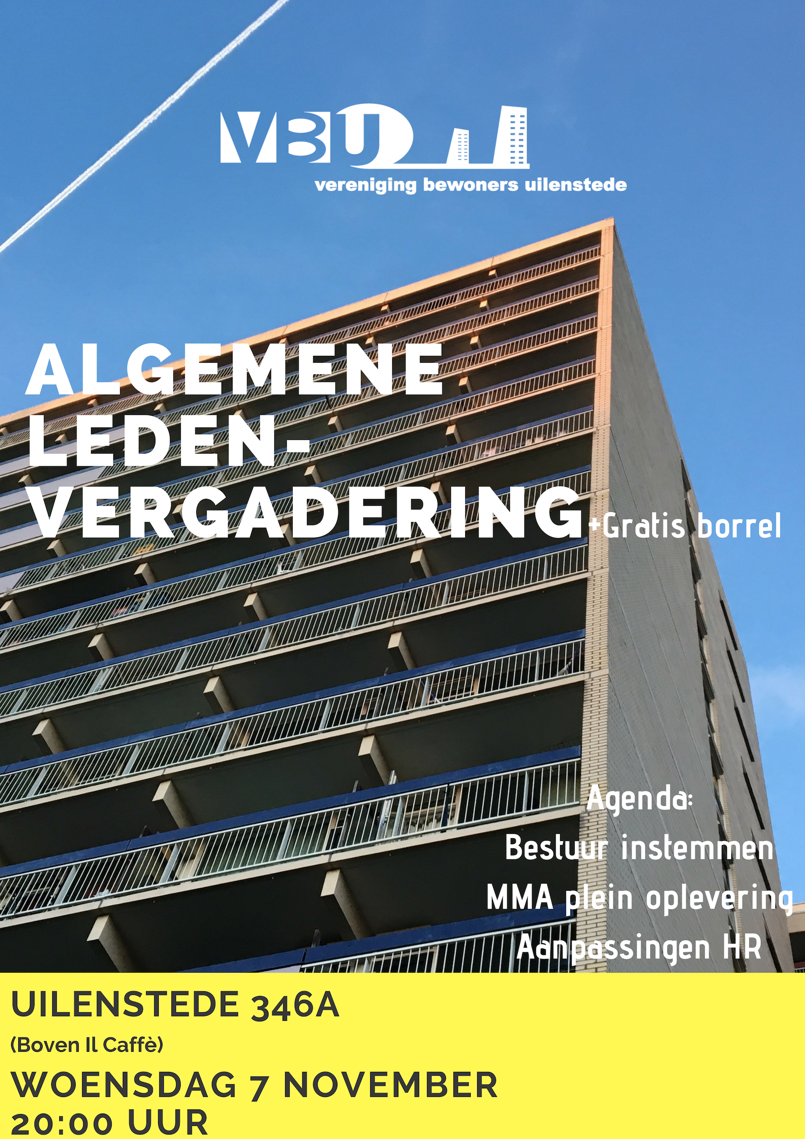 Uitnodiging ALV 7 november 2018